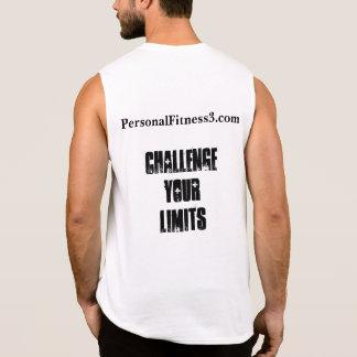 Challenge Your Limits Sleeveless Shirt