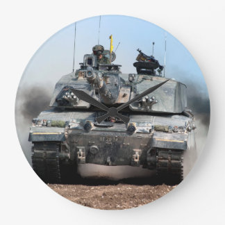 Challenger 2 Main Battle Tank (MBT) British Army Large Clock
