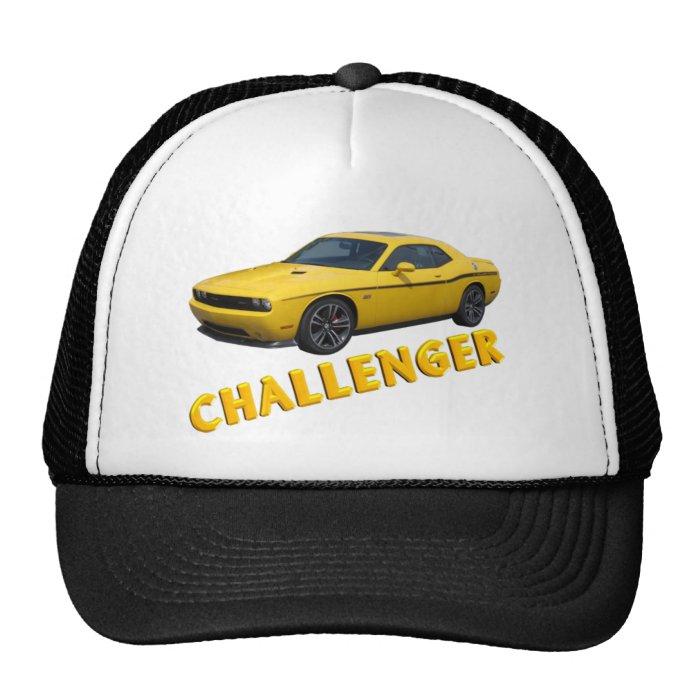 Challenger Ball Cap Trucker Hat