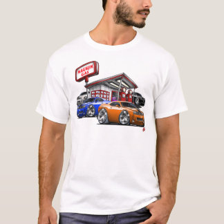 Challenger Gas Station T-Shirt