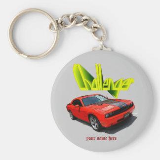 Challenger keychain