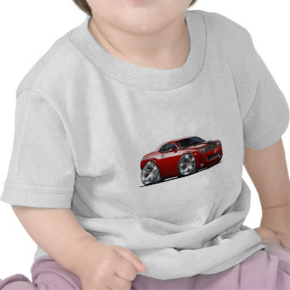 Challenger Maroon Car T Shirts