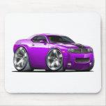 Challenger Purple Car Mousepads
