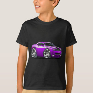 Challenger Purple Car T-Shirt