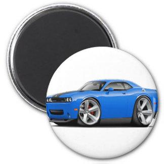 Challenger SRT8 Blue-Black Car Magnet