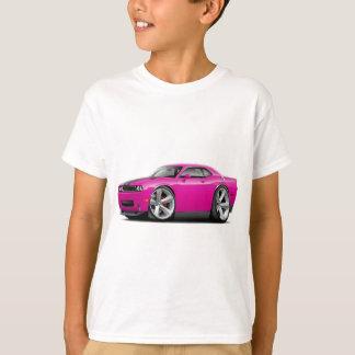 Challenger SRT8 Fuschia-Black Car T-Shirt