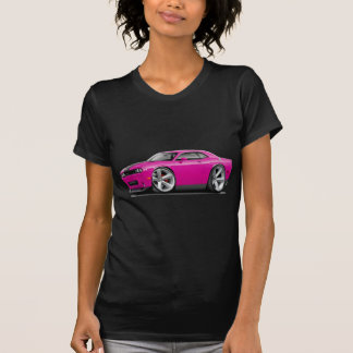Challenger SRT8 Fuschia-Black Car T-Shirt