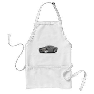 Challenger SRT8 Grey-Black Car Adult Apron