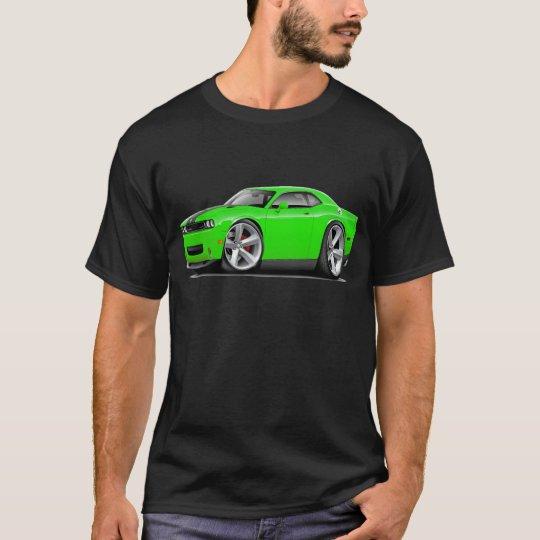 Challenger SRT8 Lime-Black Car T-Shirt
