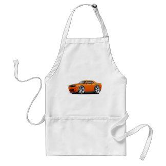Challenger SRT8 Orange-Black Car Adult Apron