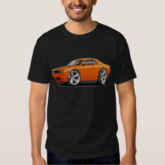 Challenger SRT8 Orange-Black Car Shirt