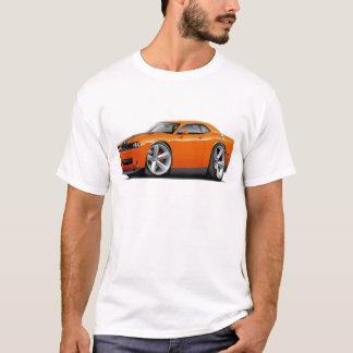 Challenger SRT8 Orange-Black Car T-Shirt