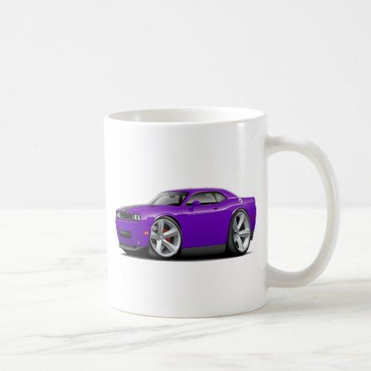 Challenger SRT8 Purple-Black Car Coffee Mug
