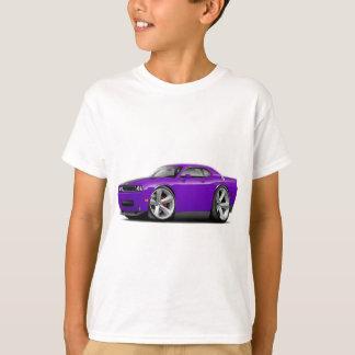 Challenger SRT8 Purple-Black Car T-Shirt