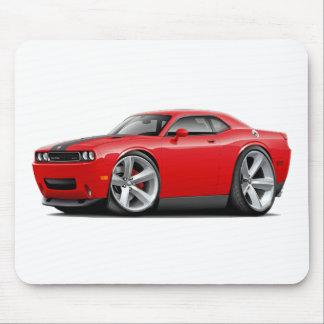 Challenger SRT8 Red-Black Car Mouse Pad