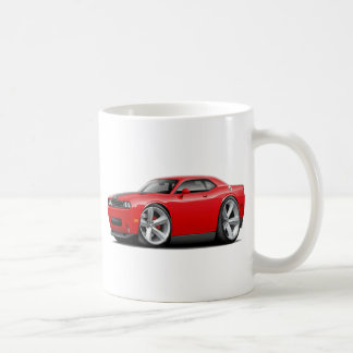 Challenger SRT8 Red-Black Car Mugs