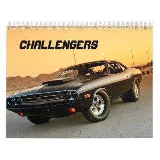 CHALLENGERS CALENDAR