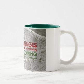 Challenges Inspirational Mug