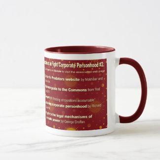 Challenging Corporate Personhood Resources #3 Mug