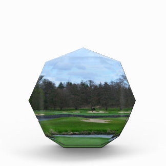 Challenging Golf Course Acrylic Award
