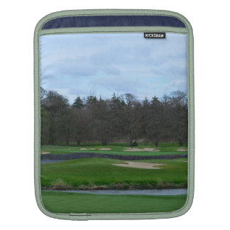 Challenging Golf Course iPad Sleeves