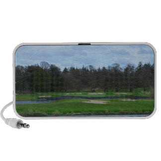 Challenging Golf Course iPhone Speaker