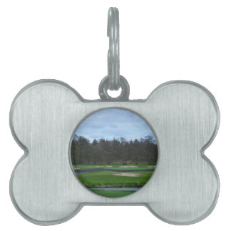 Challenging Golf Course Pet ID Tags