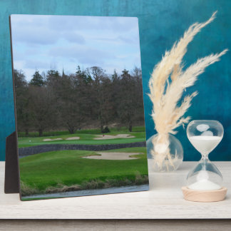 Challenging Golf Course Photo Plaque