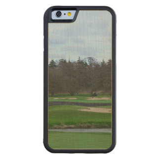 Challenging Golf Course Carved® Maple iPhone 6 Bumper Case
