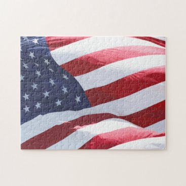 Challenging Patriotic American Stars And Stripes Jigsaw Puzzle