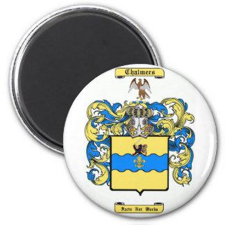 chalmers (peebles, Escocia) Imán Redondo 5 Cm