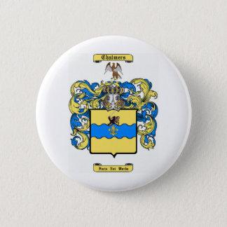 chalmers (peebles, scotland) pinback button
