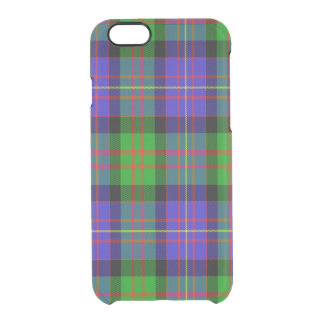 Chalmers Scottish Tartan Uncommon Clearly™ Deflector iPhone 6 Case