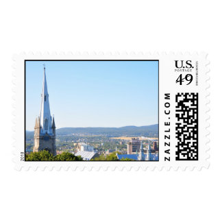 Chalmers Wesley Church Spire Old Quebec Stamps