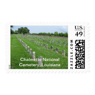 Chalmette National Cemetery, Louisiana Postage Stamp
