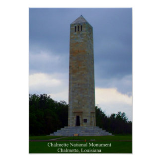 Chalmette National Monument Poster