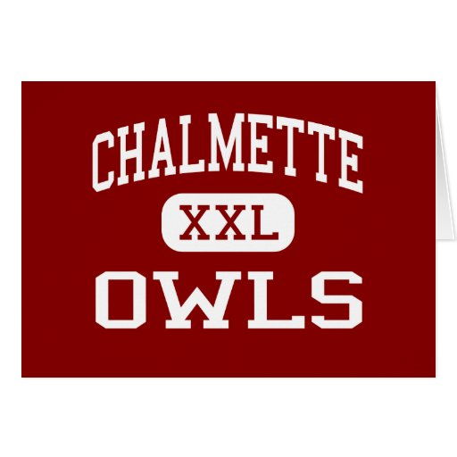 Chalmette - Owls - High - Chalmette Louisiana Greeting Cards