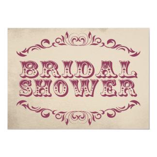 Chamán nupcial de la invitación el | de la ducha invitación 12,7 x 17,8 cm