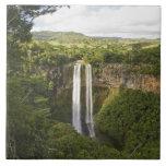 Chamarel Cascada-más alto en Mauricio, sobre 2 Teja Ceramica