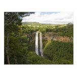 Chamarel Cascada-más alto en Mauricio, sobre 2 Postales