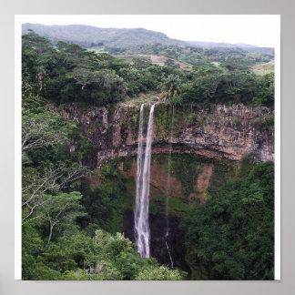 Chamarel Falls, Mauritius Poster