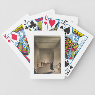 Chamber and Sarcophagus in the Great Pyramid of Gi Bicycle Playing Cards