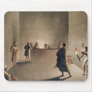 Chamber and Sarcophagus in the Great Pyramid of Gi Mouse Pad