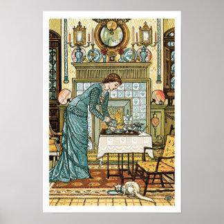 Chamber de mi señora, frontispiece 'al galán de la póster