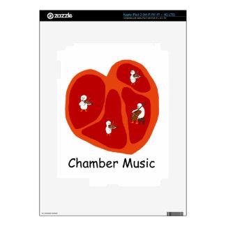 chamber music skin for iPad 3