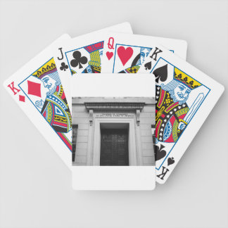 Chamber of Commerce Bicycle Playing Cards
