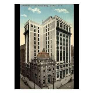 Chamber of Commerce Bldg Buffalo NY 1915 Vintage Post Cards