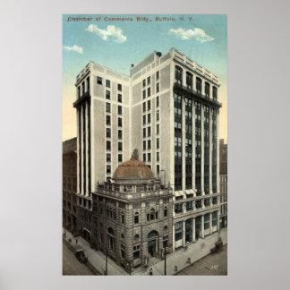 Chamber of Commerce Buffalo NY 1915 Vintage Print