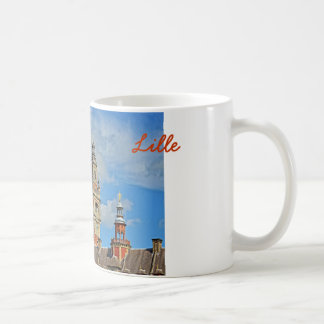 Chamber of Commerce of city Lille, France Classic White Coffee Mug