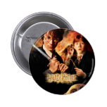 Chamber of Secrets - French 2 Inch Round Button